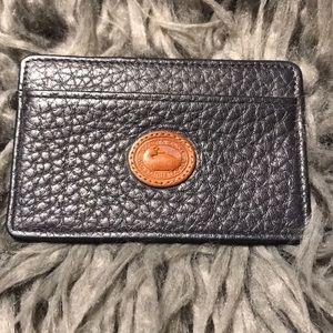 ❤️RARE VINTAGE DOONEY & BOURKE CARD CASE ❤️